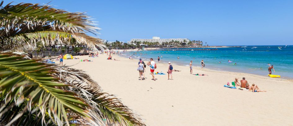 Playas de las Cucharas, Costa Teguise